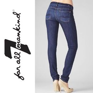 2245 ✴️ 7 FOR ALL MANKIND ROXANNE Skinny Jeans Ski